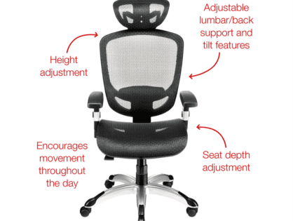 How to Choose Good Desk Chairs Salt Lake City, UT Furnishings for Your Office